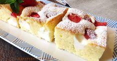 Super vysoká, úžasne jemná, mäkučka a nadýchana bublanina.  Receptov na skvelú bublaninu nikdy nie je  dosť a tento jednoduchý hr... Vanilla Cake, Cheesecake, Food And Drink, Vanilla Sponge Cake, Cheesecakes, Cheesecake Pie