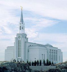The Boston LDS Temple