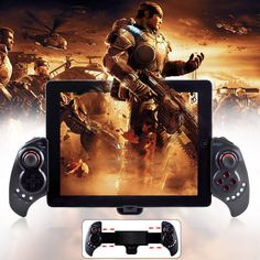 IPEGA PG-9023 Wireless Bluetooth Unique Controller Gamepad Support Android ios Android TV Box Tablet PC - Black
