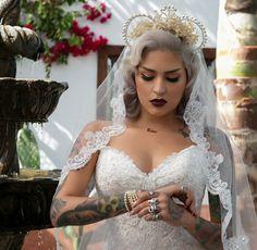 Casarse con estilo. Septum y tatuajes