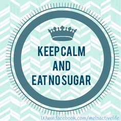 A one week no sugar challenge.  You can join on my FB page. www.facebook.com/melsactivelife   7 days with no refined sugar!!!