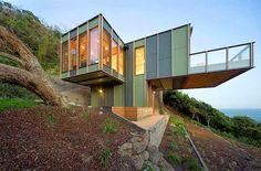Diseño de casa en forma de árbol de dos pisos, pisos flotantes | Construye Hogar