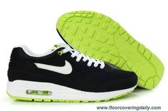 new style b823e ceed7 Outlet Mens Nike Air Max 1 Black Volt White Shoes China,discount Nike Air  Max Shoes,sale Nike Air Max new Nike Air Max Shoes,elite Nike Air Max ...