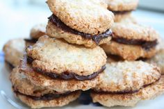 Biscotti, Macarons, Tapas, Food And Drink, Cookies, Recipes, Crack Crackers, Biscuits