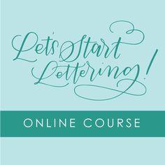 Let's-Start-Lettering
