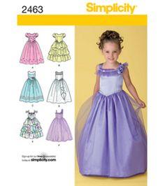 Simplicity Pattern 2463BB 5-6-7-8 -Simplicity Child