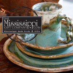 Etta B Dinnerware will surely jazz up your tablescape! www.TheMississippiGiftCompany.com/etta-b-pottery-dinnerware.aspx