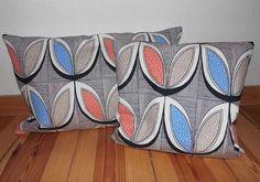 LINDA Kissen  40x60 cm & 40x40 cm von Tante-Donatella via dawanda.com