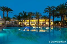 Gran Oasis Resort is very recommended for families with kids