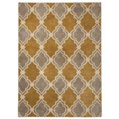 Threshold™ Traditional Fretwork Wool Area Rug