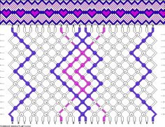 24 strings, 4 colors, 14 rows