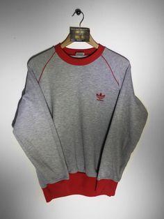 Adidas sweatshirt Size Small £34 Website➡️ www.retroreflex.uk #adidas #trefoil #vintage #oldschool