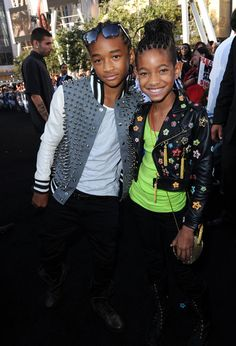 "Jaden Smith Photos Photos - Actor Jaden Smith (L) and sister actress Willow Smith arrive at the premiere of Summit Entertainment's ""The Twilight Saga: Eclipse"" during the 2010 Los Angeles Film Festival at Nokia Theatre L.A. Live on June 24, 2010 in Los Angeles, California. - Premiere Of ""The Twilight Saga: Eclipse"" - Arrivals"