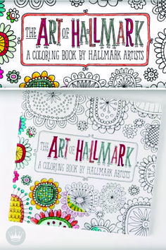 Hallmark artists' intricate line drawings help you bring these adult coloring books to life with your very own creative flair. This will make the perfect Christmas gift this year for the artist in your life.