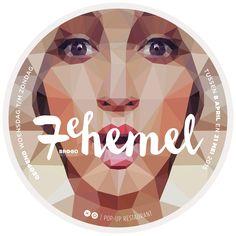 Zevende Hemel logo - ons derde pop-up project. Wow! Wat was het weer een beleving!