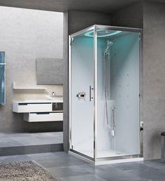 Kabina z hydromasażem EON marki Novellini w rozmiarze 90x90. ------------------------- #novellini #projektantwnetrz #kabinaprysznicowa #BathroomShower #ShowerSystems #prysznicowe #kabinyprysznicowe #projektowaniewnetrz #projektowaniewnetrzwarszawa #inspiracjelazienkowe #modernbathroom Shower Cabin, Cabins, Lockers, Locker Storage, Furniture, Home Decor, Decoration Home, Shower Enclosure, Room Decor