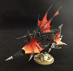 Eye of Error: Dark Eldar Ravager Demo Model