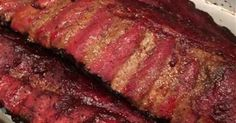 Smoked ribs a great alternative to grilled All You Need Is, Home Smoker, Smoking Recipes, Smoked Ribs, Piece Of Bread, Pork Ribs, Meatloaf, Ground Beef, Grilling