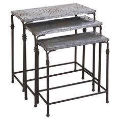 3-Piece Gilbert Nesting Table Set  at Joss and Main