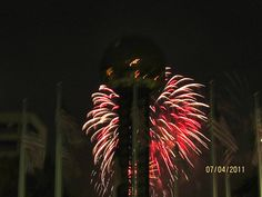 4th of July celebration at the World's Fair Park, Knoxville, TN.
