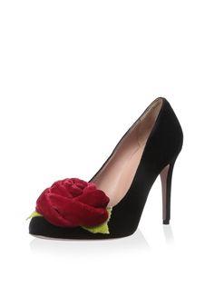 RED Valentino Women's Pump With Flower, http://www.myhabit.com/redirect/ref=qd_sw_dp_pi_li?url=http%3A%2F%2Fwww.myhabit.com%2Fdp%2FB0156EYTGK%3F