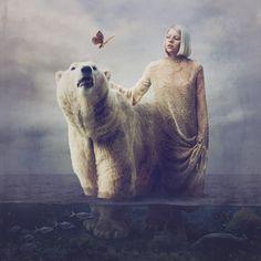 Aurora Aksnes with icebear