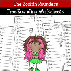 3 Free Rounding Worksheets