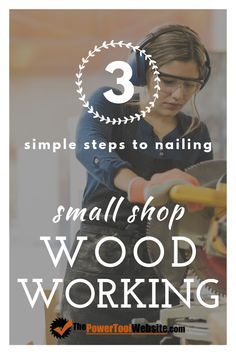 3 simple steps for small shop woodworkers to finally get more from beginner woodworking. Strategies and a library of woodworker resources. Wood Projects That Sell, Easy Wood Projects, Woodworking Projects That Sell, Project Ideas, Woodworking Classes, Outdoor Projects, Woodworking Shop, Unique Woodworking, Woodworking Joints