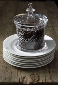 gorgeous glass lidded jar