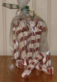 wooden candy canes