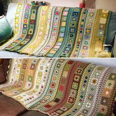 Afghan Crochet Patterns, Crochet Granny, Double Crochet, Knit Crochet, Blanket Crochet, Crotchet, Granny Square Blanket, Granny Squares, Wool Thread