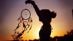 belle photo de capteur de rêve, idées comment fabriquer un attrape rêve soi-même