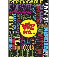 Trend Enterprises We Are Poster (Set of 3)