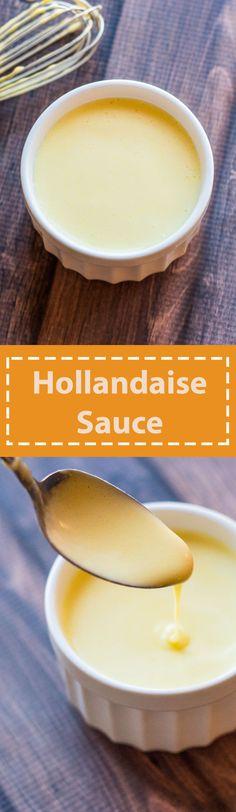 Classic Hollandaise Sauce #breakfast #eggsbenedict #hollandaisesauce #yum #nomnom