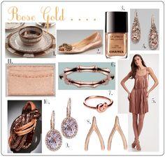 love rose gold