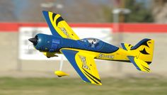 "4-CH SU-26M 1200MM (47"") Brushless Sports RC Plane 2.4G RTF (Blue)"