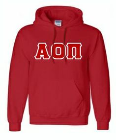 Alpha Omicron Pi Sweatshirts Hoodie SALE $53.95. - Greek Clothing and Merchandise - Greek Gear®