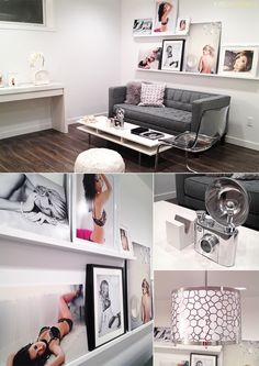 Love this space. Boudoir Studio Space by Katch Studios