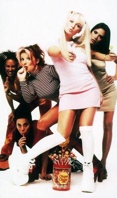 Spice Girls Chupa Chups ad