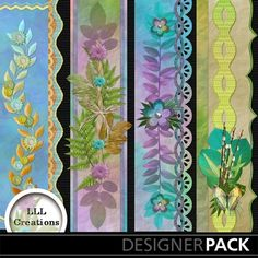 Inspirational Borders from LLL Creations