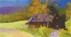 Neighbor's barn - Long version by Wolf Kahn