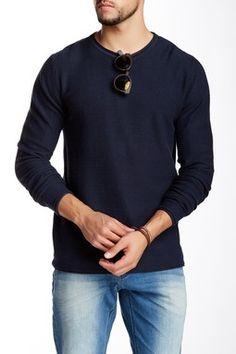 Roll Edge Knit Sweater