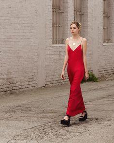 Reformation Slip Maxi Dress