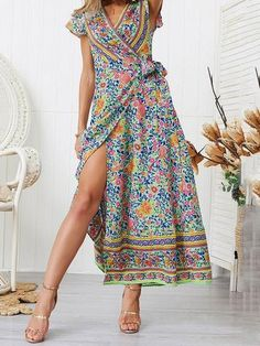 34-42 Damen Schulterfrei Lace Crochet Casual Loose Tops Strandkleid Mini Kleid