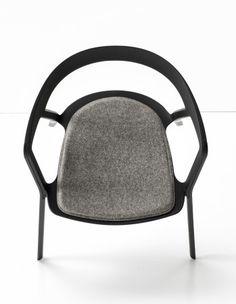Stackable polypropylene chair COMPAS By Kristalia design Patrick Norguet Corner Sofa Design, Chair Design, Photoshop, Nordic Design, Modern Design, Patrick Norguet, Color Plan, Interior Architecture, Interior Design