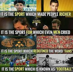 Football is love, football is life! Soccer Jokes, Football Jokes, Football Fever, Football Stuff, Soccer Stuff, College Football Coaches, Football Is Life, Football Players, Football Love Quotes