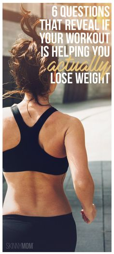 Your Workout is Actually Helping Your Lose Weight