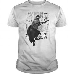 Awesome Tee Samurai Tshirt Japanese Warrior Class Men Martial Arts Cotton Tee shirts T-Shirts