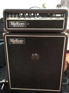 Marlboro Bass Amp mit Box in Nordrhein-Westfalen - Ruppichteroth   Musikinstrumente und Zubehör gebraucht kaufen   eBay Kleinanzeigen