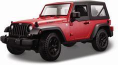 2014 Jeep Wrangler Willys Red Diecast Model Car by Maisto for sale online 2014 Jeep Wrangler, Diecast Model Cars, Cars For Sale, Monster Trucks, Scale, Vehicles, Metal, Ga Usa, Color Red
